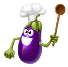 aubergine rigolote